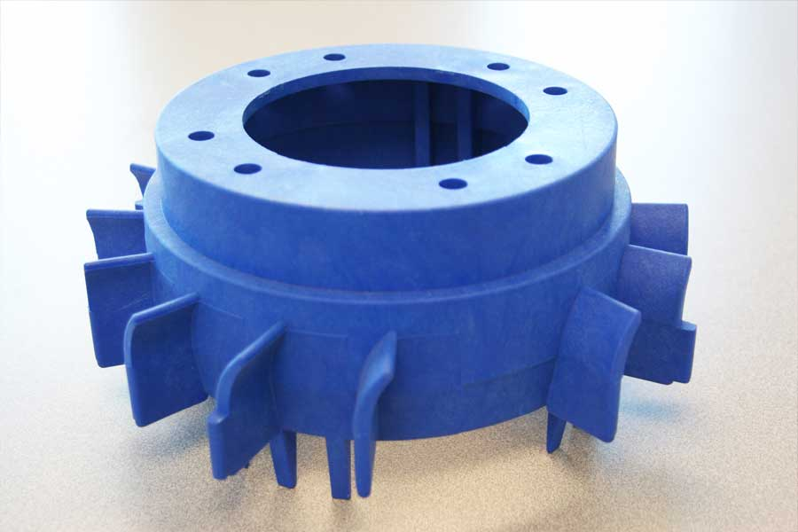 structural foam molded part